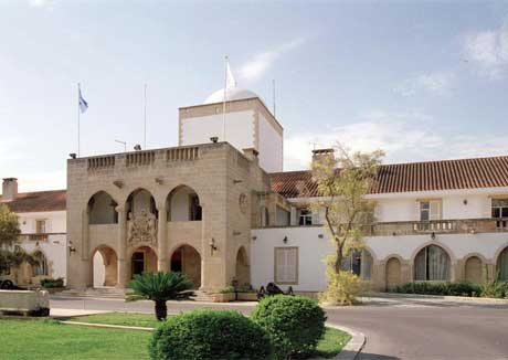Presidential Palace in Nicosia