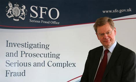 The UK body which investigates and prosecutes serious and complex fraud