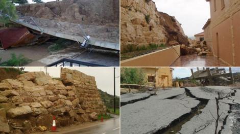 Construction problems in the Cyprus village Pissouri