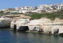 Peyia sea caves
