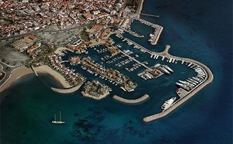 The new Limassol marina