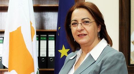 Cyprus Interior Minister - Mrs Eleni Mavrou