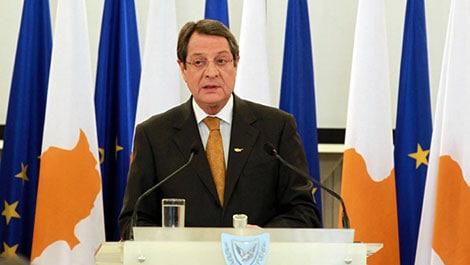 President of the Republic of Cyprus Nicos Anastasiades (Source: Cyprus News Agency)