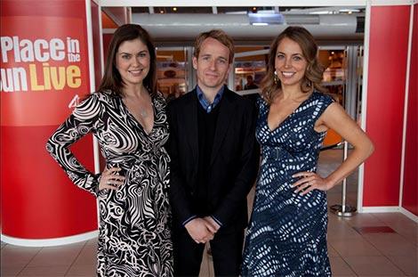 Amanda Lamb, Jonnie Irwin and Jasmine Harman