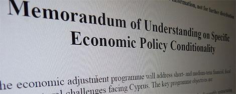 troika Memorandum of Understanding (Cyprus)