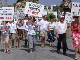 Cyprus Title Deed protest