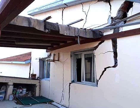 Cyprus: Pissouri property destroyed by landslide