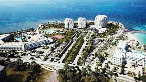 Cyprus: Paphos high-rise devcelopment Geroskipou