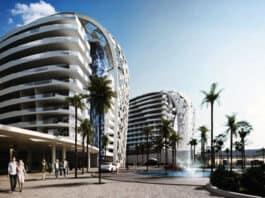 Eden City high-rise mixed use development in Geroskipou