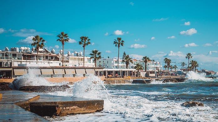 paphos sea front