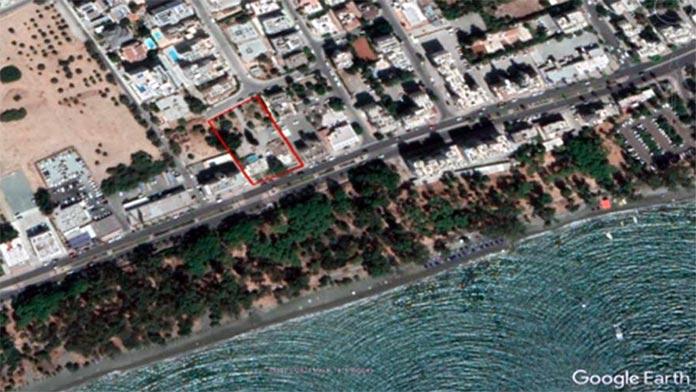 Dasoudi hi-rise building location