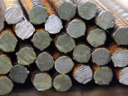 rebar used in construction