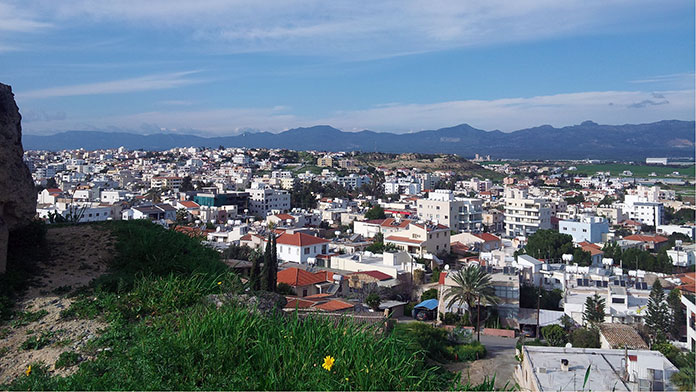 View over Nicosia (Cyprus)