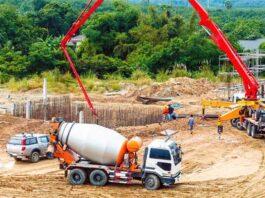 construction material (concrete)